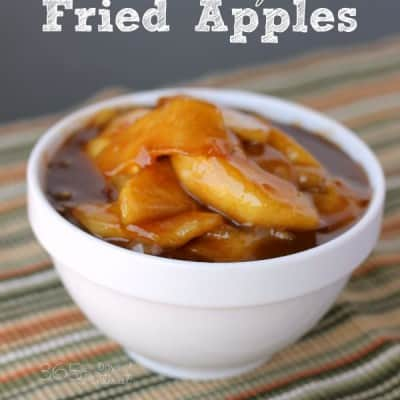 Cracker Barrel at Home: Fried Apples and Triangle Peg Board Games