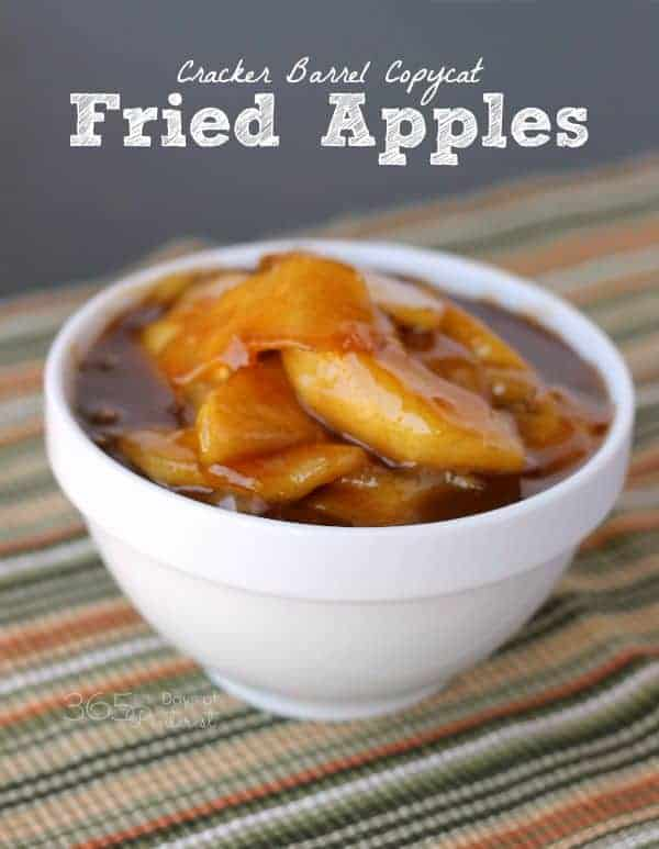 cracker barrel fried apples