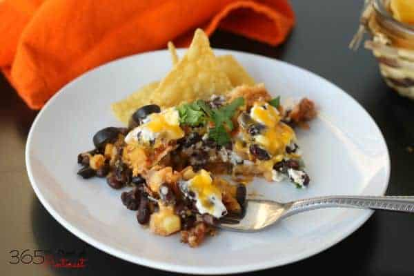 cheesy tex-mex casserole