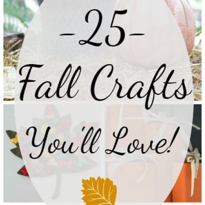 25 Fall Crafts You'll Love