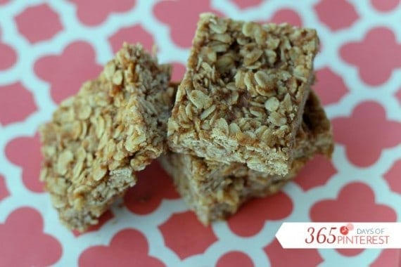 These healthy breakfast bars are sugar free but still sweet and satisfying. Add chocolate chips or raisins for a sweet treat!
