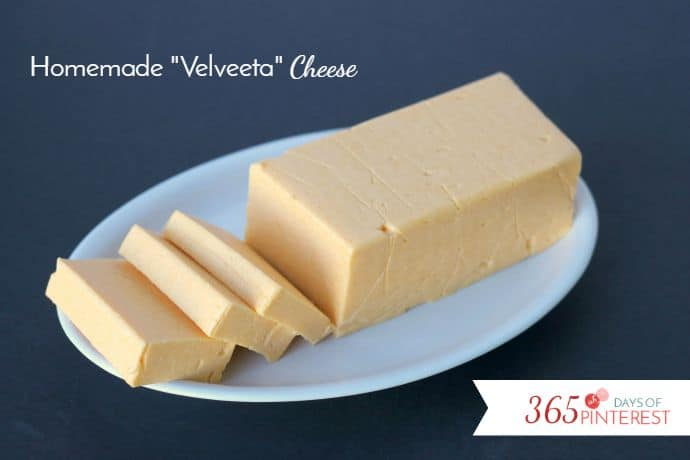 homemade velveeta cheese loaf
