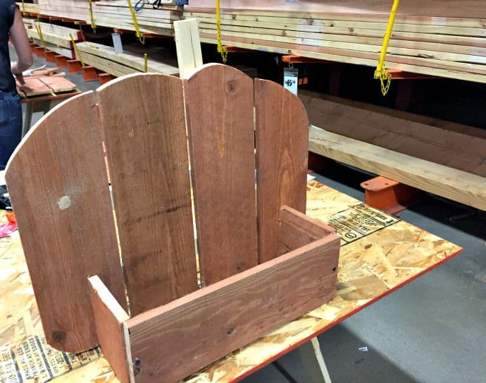 rustic pumpkin box step 2