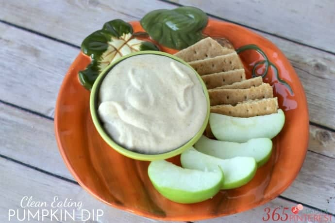 Clean eating pumpkin dip resized