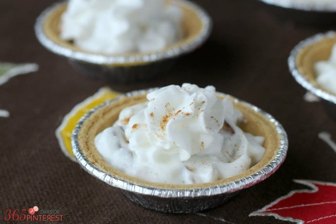 candy bar mini pies