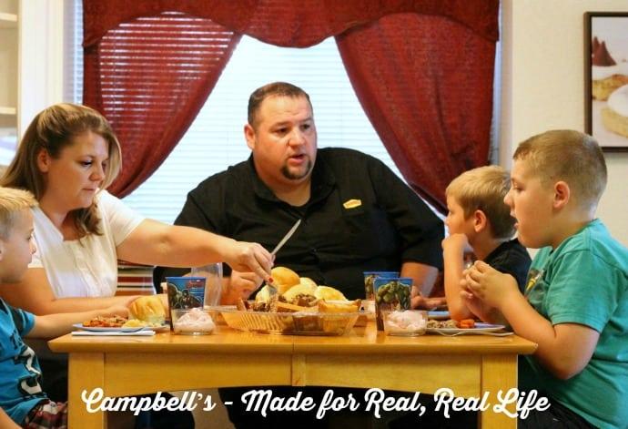 family dinner campbell's