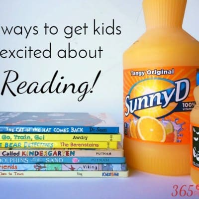 12 Ways to Get Kids Excited About Reading!