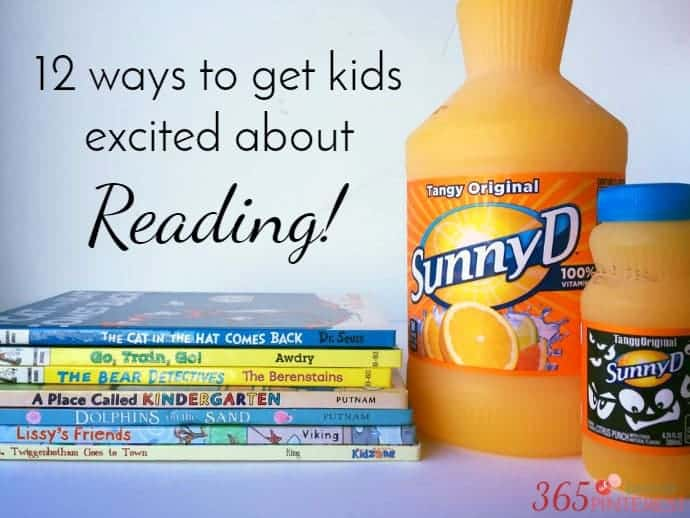 ways to get kids excited about reading