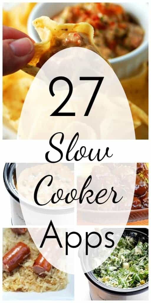 Slow Cooker appetizers