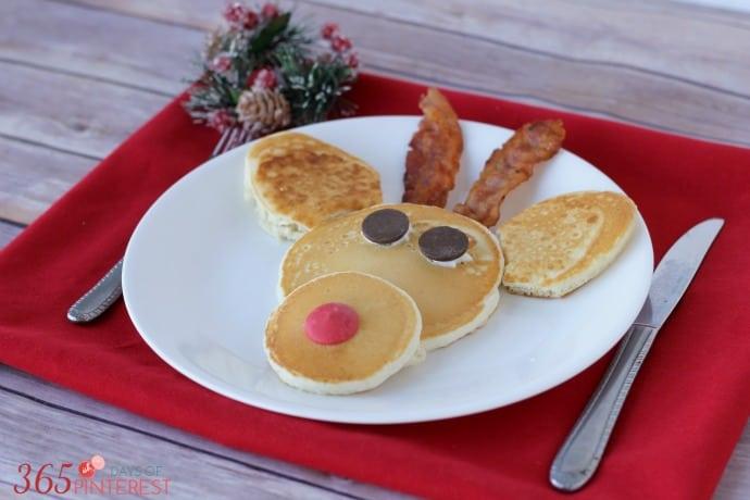 reindeer pancakes breakfast