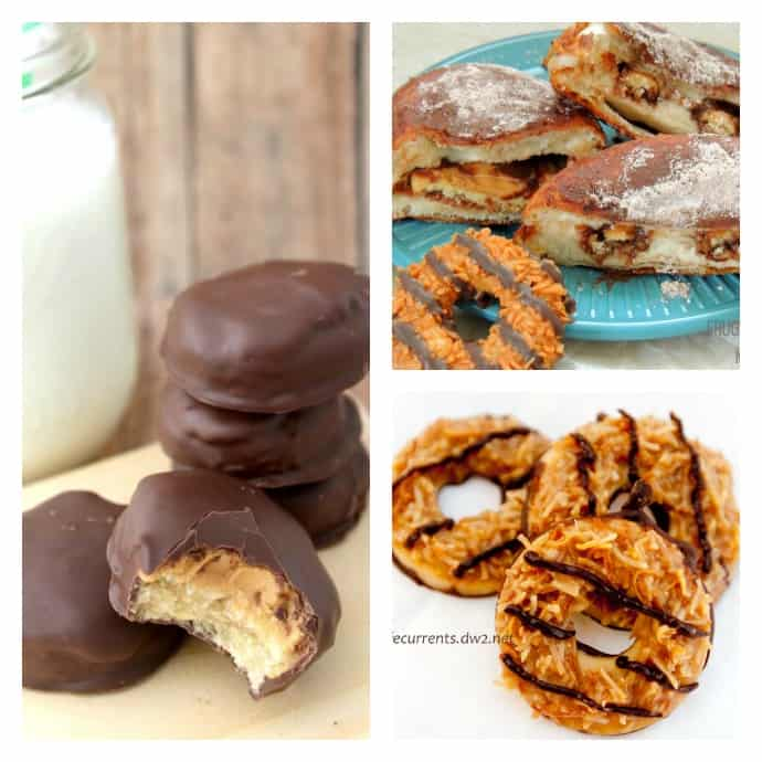 girl scout cookie recipes 1