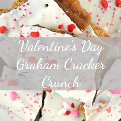 Graham Cracker Crunch: a Valentine's Day treat