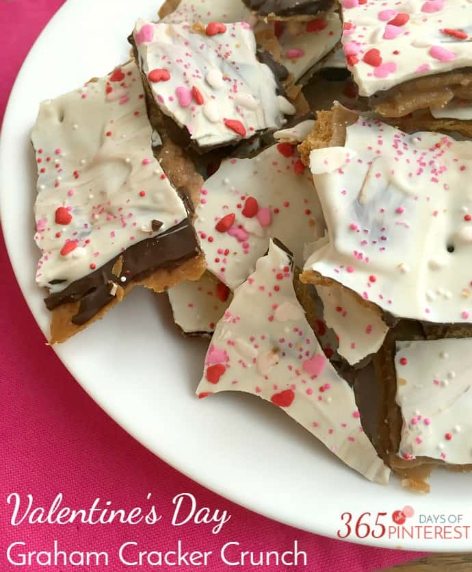 valentine's day graham cracker crunch