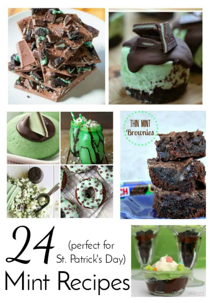 Mint recipe collection perfect for St. Patrick's Day