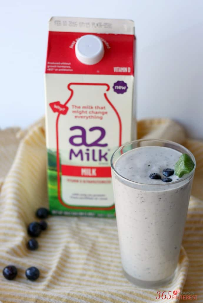 A2 milk for smoothies