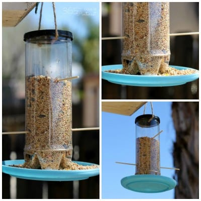 Upcycle: From Tennis Ball Can to Bird Feeder