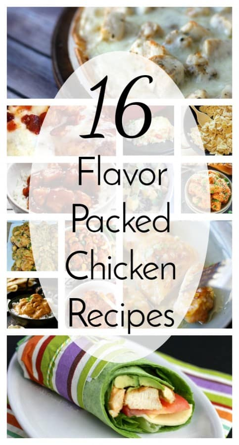 16 flavor packed chicken recipes