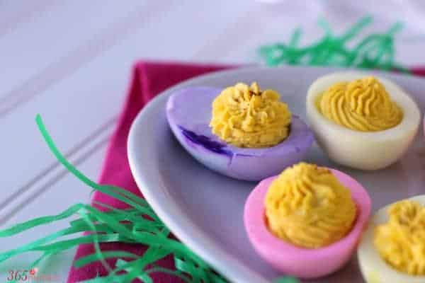 colored deviled eggs resized