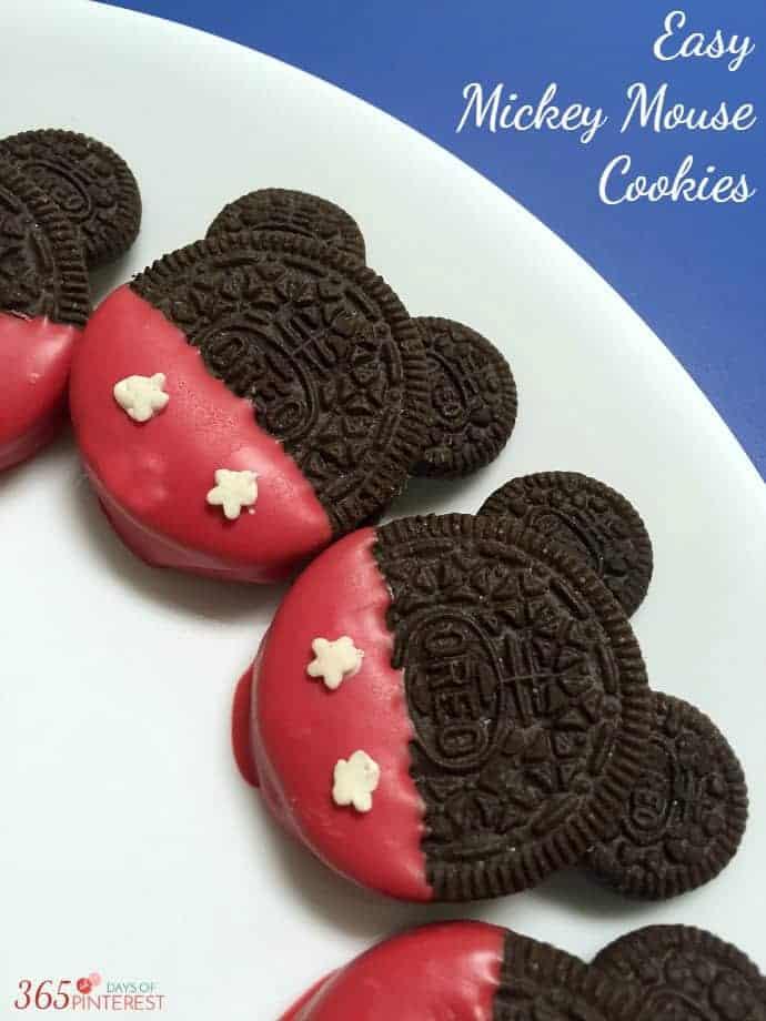 Easy Mickey cookies