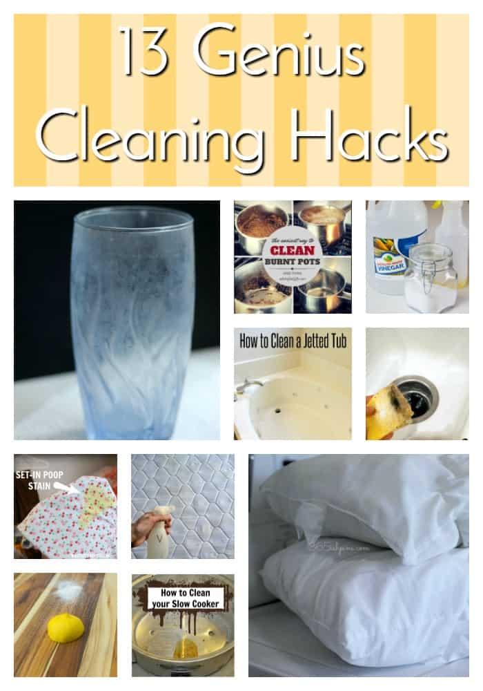 genius cleaning hacks