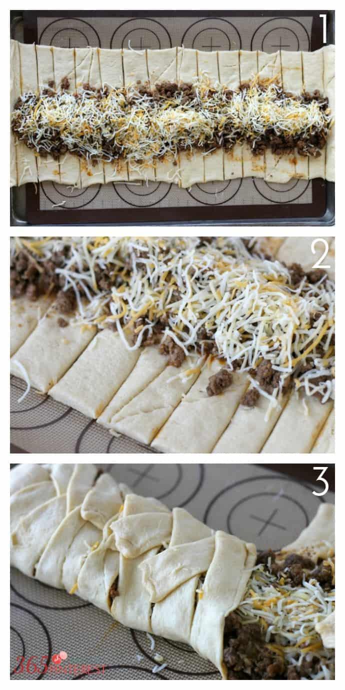 taco braid steps