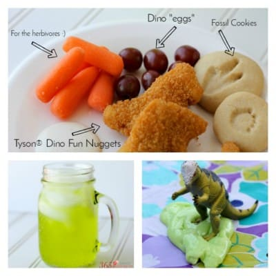 Dinosaur Day Food and Activities