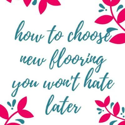 How to Choose New Flooring