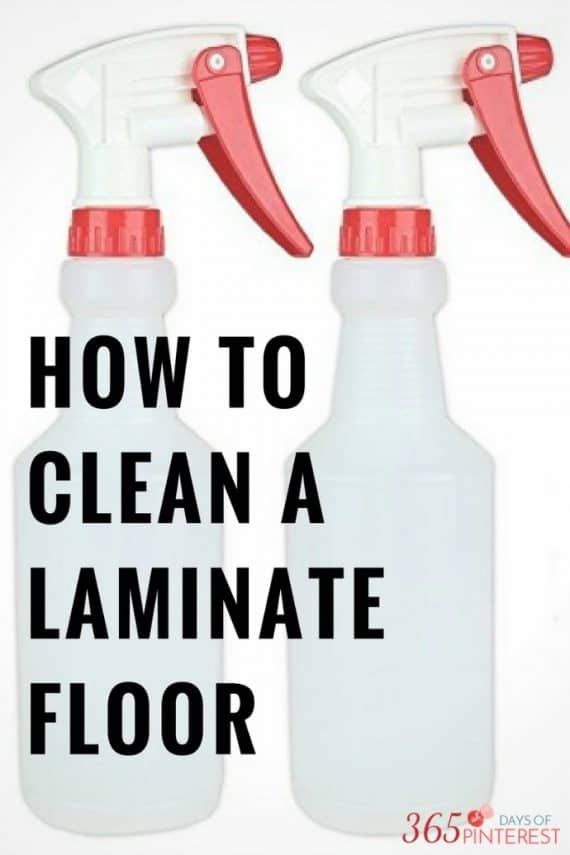 how to clean wood laminate floors