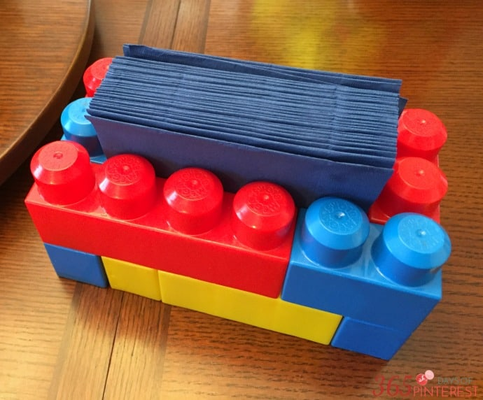 mega blocks napkin holder