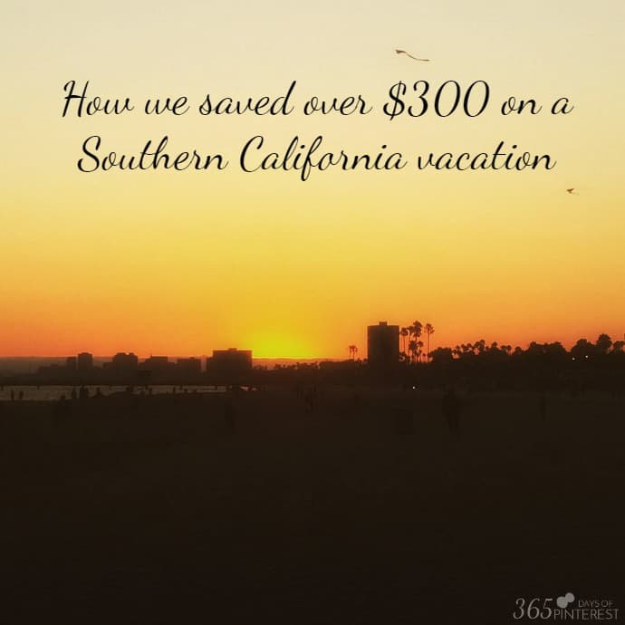 socal vacation savings