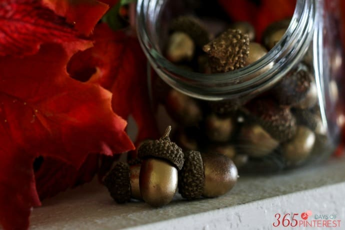 fall-decor-gold-acorns