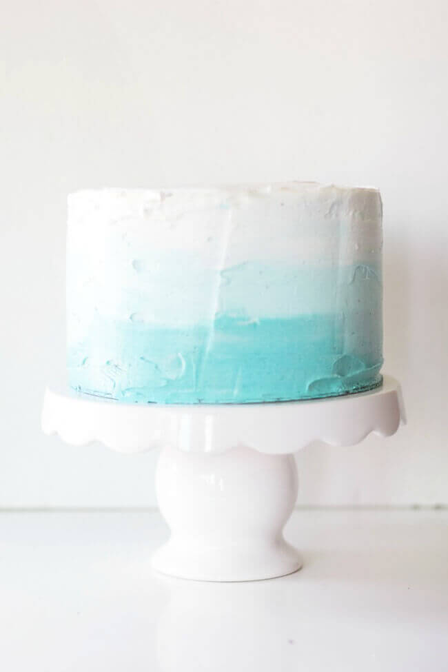 ombre-cake-for-baby-shower