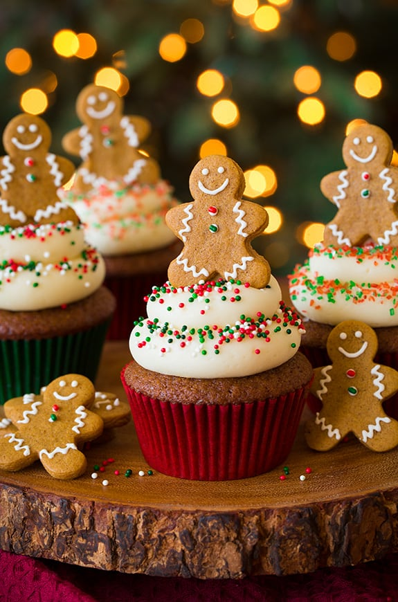 17 Christmas Cupcakes That Will Steal The Show Simple