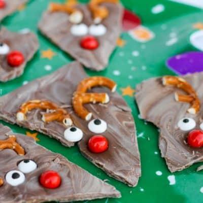Reindeer Bark: easy Christmas snack