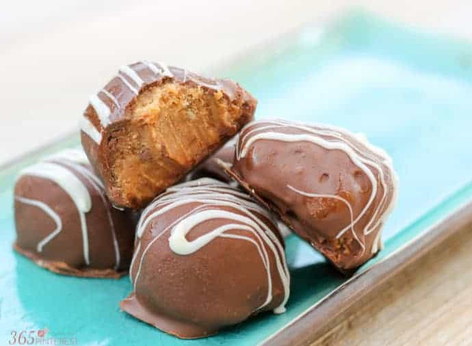 Easy Chocolate Peanut Butter Truffles - Simple and Seasonal